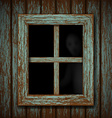 Ghost in the window vector image