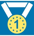 First medal icon from Competition Success vector image