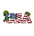 US Army symbol Military Emblem Of America American vector image