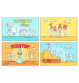 business idea and teamwork on startup vector image