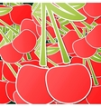 cherry background vector image