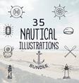35 Nautical Bundle vector image