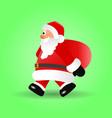 christmas of santa claus vector image
