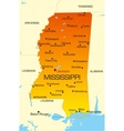 Mississippi vector image