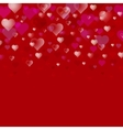 Abstract Valentine s Day background vector image