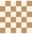 Coffee Brown Cream Chess Board Background vector image