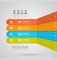 Electronics infographics vector image