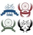 Road cycling vector image