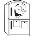 Cartoon Refrigerator vector image