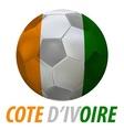 cote divoire vector image