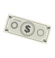 money bill icon image vector image