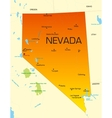 Nevada vector image