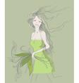 fashion sketch vector image