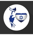 Israel design Culture design isolated vector image