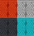 set of seamless cable patterns