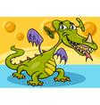 monster or dragon cartoon vector image