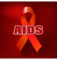 Aids Awareness World Aids Day concept vector image