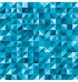 Blue seamless geometric abstract background vector image