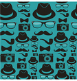 Hpsters seamless pattern vector image