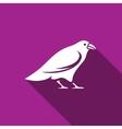 Raven icon vector image