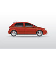 Car hatchback vector image vector image