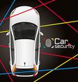 Car Laser Security vector image vector image