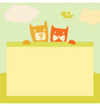 banner with space for text Pets Cartoon vector image