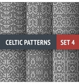 Celtic Patterns Set vector image