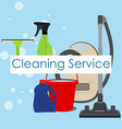 Cleaning service poster vector image