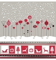 Decorative Winter Background vector image