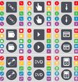 Link Hand Tie Wallet Media play Credit card Disk vector image vector image