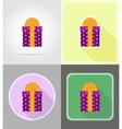 celebration flat icons 06 vector image