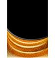 gold curtain silk tissue vector image