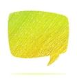 Abstract speech bubble  EPS8 vector image vector image