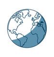 world map earth atlas cartography graphic vector image