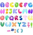 Bubble letters vector