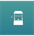 Water Well flat vector image