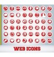 Icons Set for Web Applications vector image