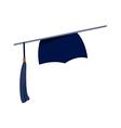 icon graduation cap vector image