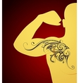 Tribal tattoo ornament vector image vector image
