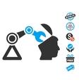 Open Head Surgery Manipulator Icon With Free Bonus vector image