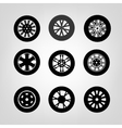 Tires Icons-03 A vector image
