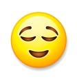 Emoji isolated on white background emoticon vector image vector image
