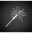 Party sparkler icon vector image vector image