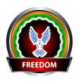 Freedom icon vector image