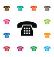 isolated dial icon call element can be vector image