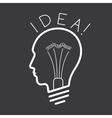 Creative Idea concept background vector image vector image