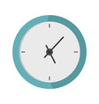 clock minimal icon flat style vector image