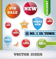 Sale Icon Set vector image