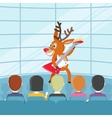 Perfomance on Talent Show Cartoon Concept vector image